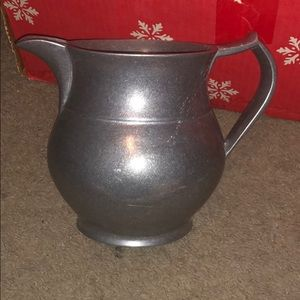 Wilton Mount pewter pitcher